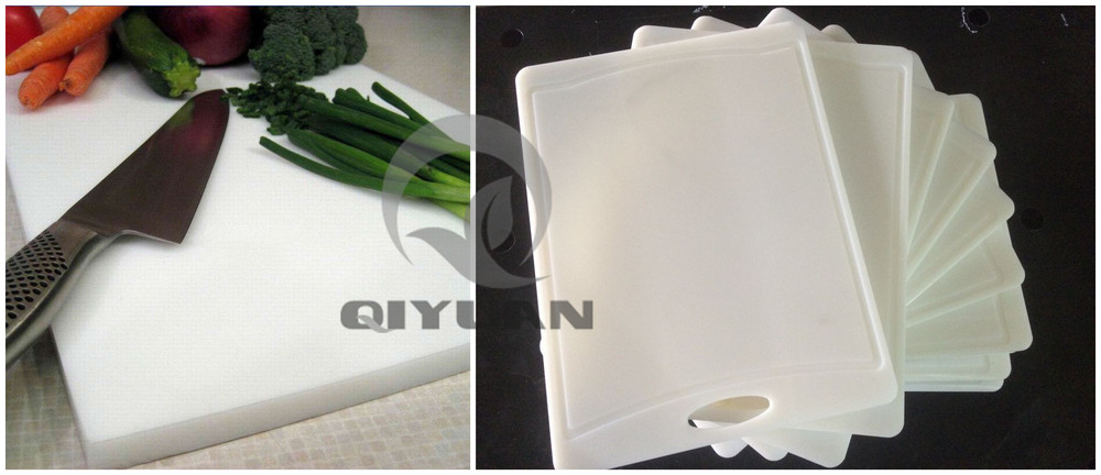 Directly manufacturer HDPE cutting sheet customized polyethylene plastic cutting board
