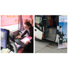 Bus Payment Ticket Validator System With RFID IC Card Reader For Fare Collection System