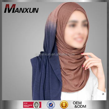 Fashion Style Muslim Hijab Comfortable Design For Women Wear Shawl