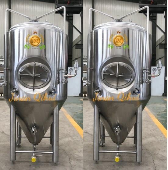 1000L conical fermenter with hop gun