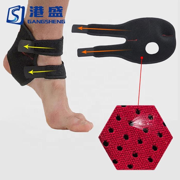 Gangsheng Medical Manufacturer Preços Sport tornozelo apoio compressão tornozelo cinta