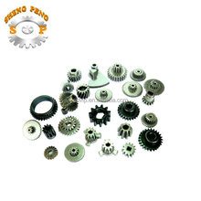 HOT Selling good design small aluminum gear,steel gear