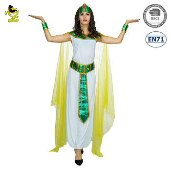 Halloween dress party costumes wholesale women green cleopatra ancient Egypt cosplay dress costume women  sc 1 st  Alibaba & Halloween Dress Party Costumes Wholesale Women Green Cleopatra ...