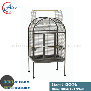 new design large metal round bird cage