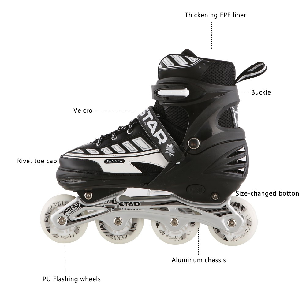 Exercise Use Shoes Skates Roller