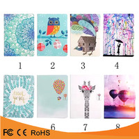 Bulk buy from china colorful stand flip pu leather tablet cover case for ipad 6