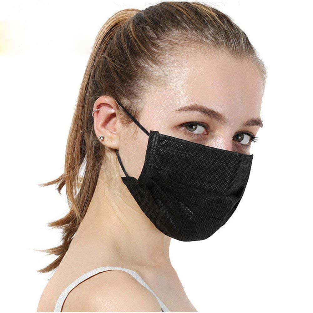 bmc fit mask disposable surgical mask regular size white 50 pieces