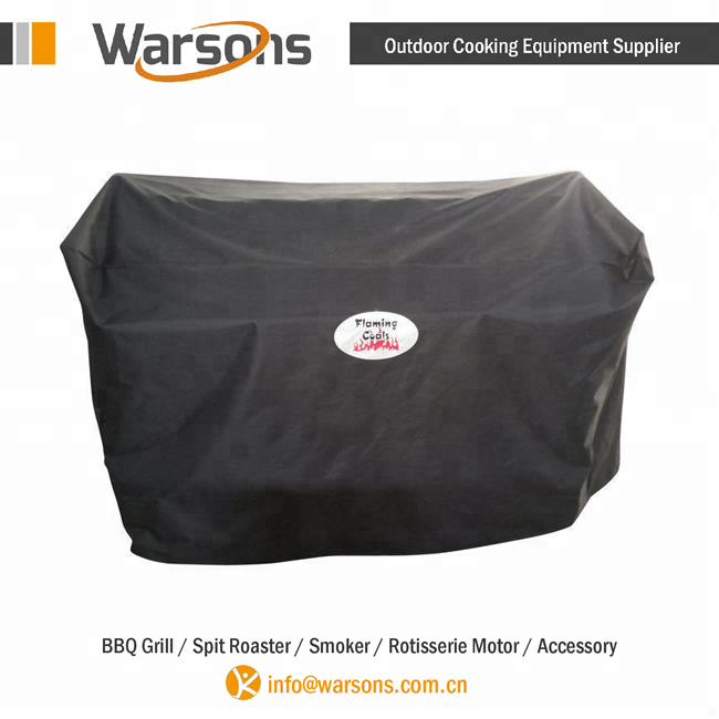 Waterproof Black Color Bbq Grill Cover For Spartan Spit Roaster