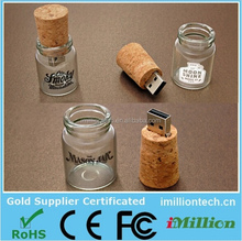 wholesale customized wooden wine cork usb flash drive,wooden bottle cork usb drive,wood cork usb