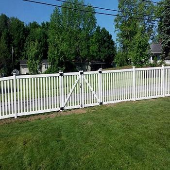 Recinzioni Per Giardino In Pvc.A Buon Mercato Prefabbricata Pannelli Di Recinzione Pvc Steccato