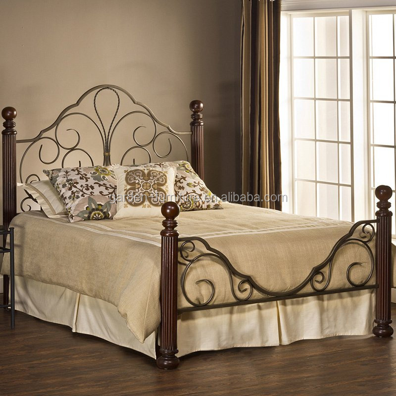 Discount the most popular metal bed wrought iron bed