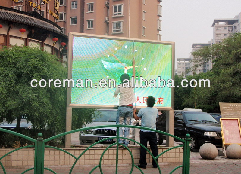 Best selling products outdoor scrolling message waterproof p20mp25 rgb led information billboard