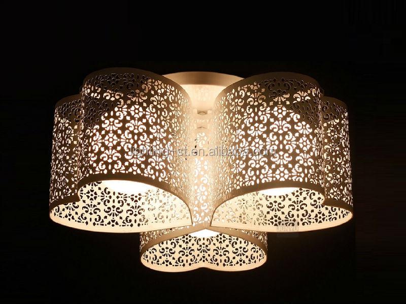 3 Hartvormige Wit Ijzer Plafond Slaapkamer Plafondlamp St-1187-3h ...