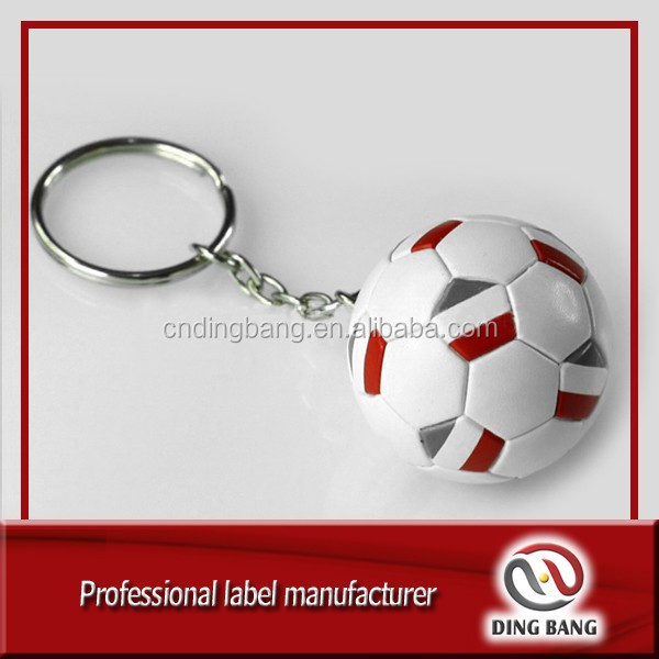 Custom Golf Ball Baseball Basketball Softball Volleyball Football Soccer Keychain