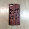Custom combo pc wood phone case for iphone 7