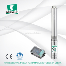 PUMPMAN 2015 high efficiency for irrigation hydraulics solar submersible borehole pump