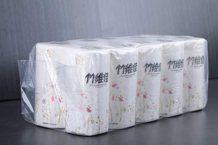 High Quality Bamboo 3 Ply Toilet Tissue Paper Jumbo Roll