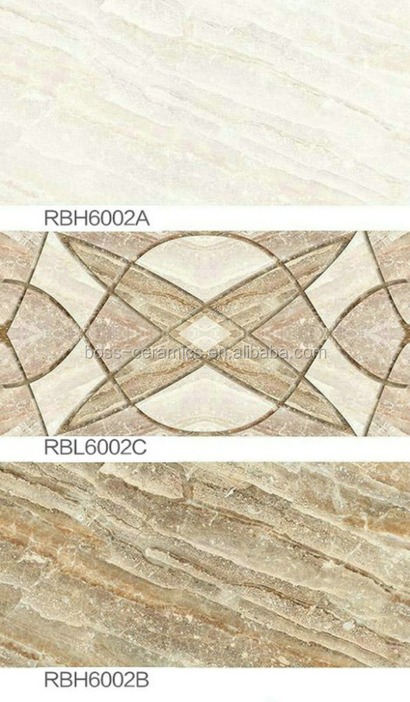 High quality cheap price ceramic tile wall 300x600 white/glazed ceramic tile