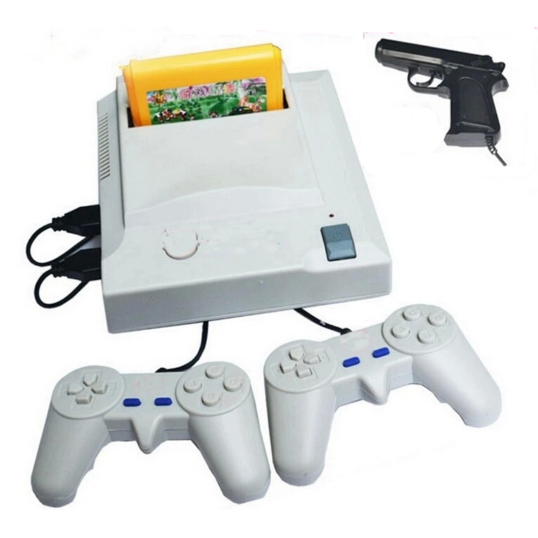 Nostalgic original video games console player with free game cartridge card 400 different games TV game player