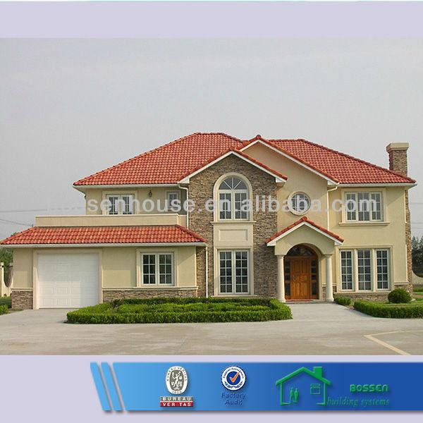 Luxus fertighaus villa  bv verifizierbar 350m2 luxus fertighaus villa licht stahl ...