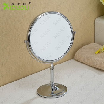 Bathroom Table Stand Magnifying Mirror 3x