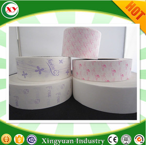 Hot sell in Southeast Asia Silicone Released paper for feminine hygiene napkin
