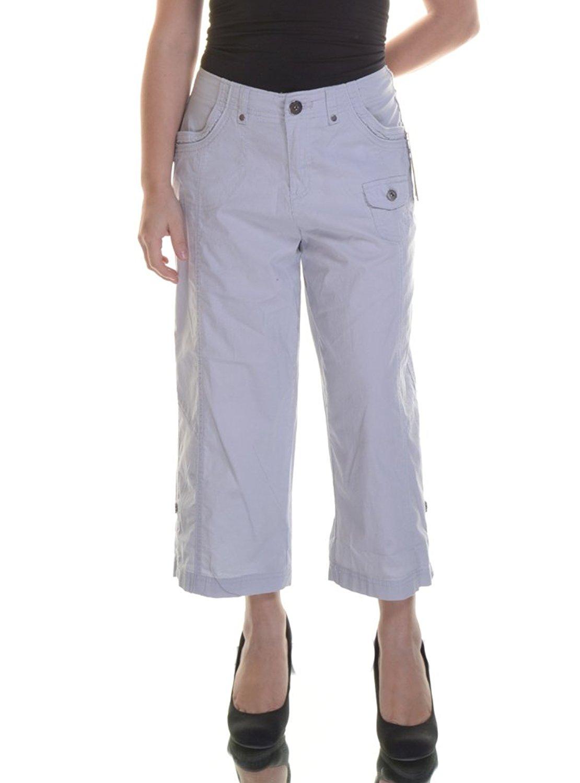 Style /& Co Tab-Pocket Capri Pants