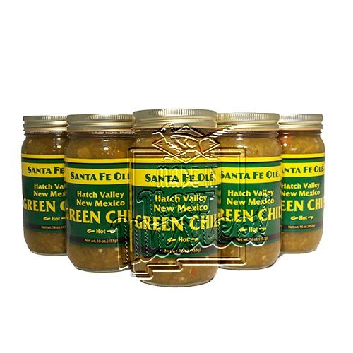 Santa Fe Ole Hatch Valley New Mexico Green Chile Hot (6)