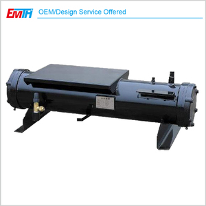 manufacture water chiller evaporator , shell and tube type evaporator , water chiller evaporator