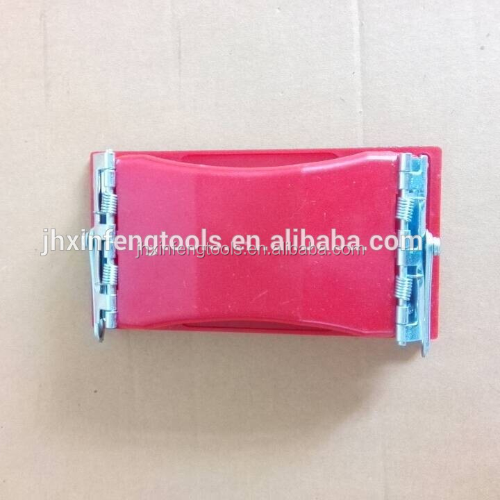 China factory of eva sanding block pp material abrasive block hand tools with free sample