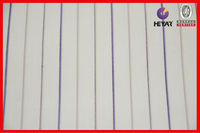 High Quality Upholstery Fabric T/C Stripe White Fabric