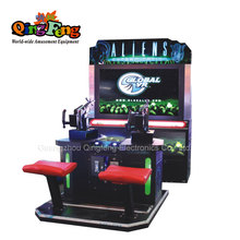 Qingfeng heetste 55 inch <span class=keywords><strong>LCD</strong></span> shoot aliens cijfers games arcade elektronische game machine
