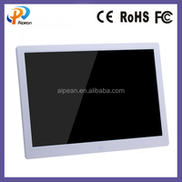 16:9 resolution large size digital photo frame 15 inch digital photo frame with motion sensor