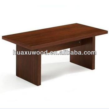 Hx Mz615 Simple Wooden Coffee Table Office Style Teapoy
