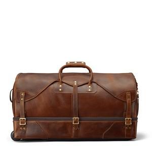 b767532ed7 Customized large size mens waterproof wheeled designer rolling duffle bags