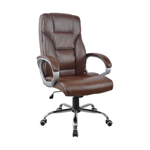 Luxury Leather Executive High Back Office Chair Bed
