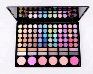 78 Color Eye Makeup Cosmetics All In One Makeup Palette High End For Daily Use