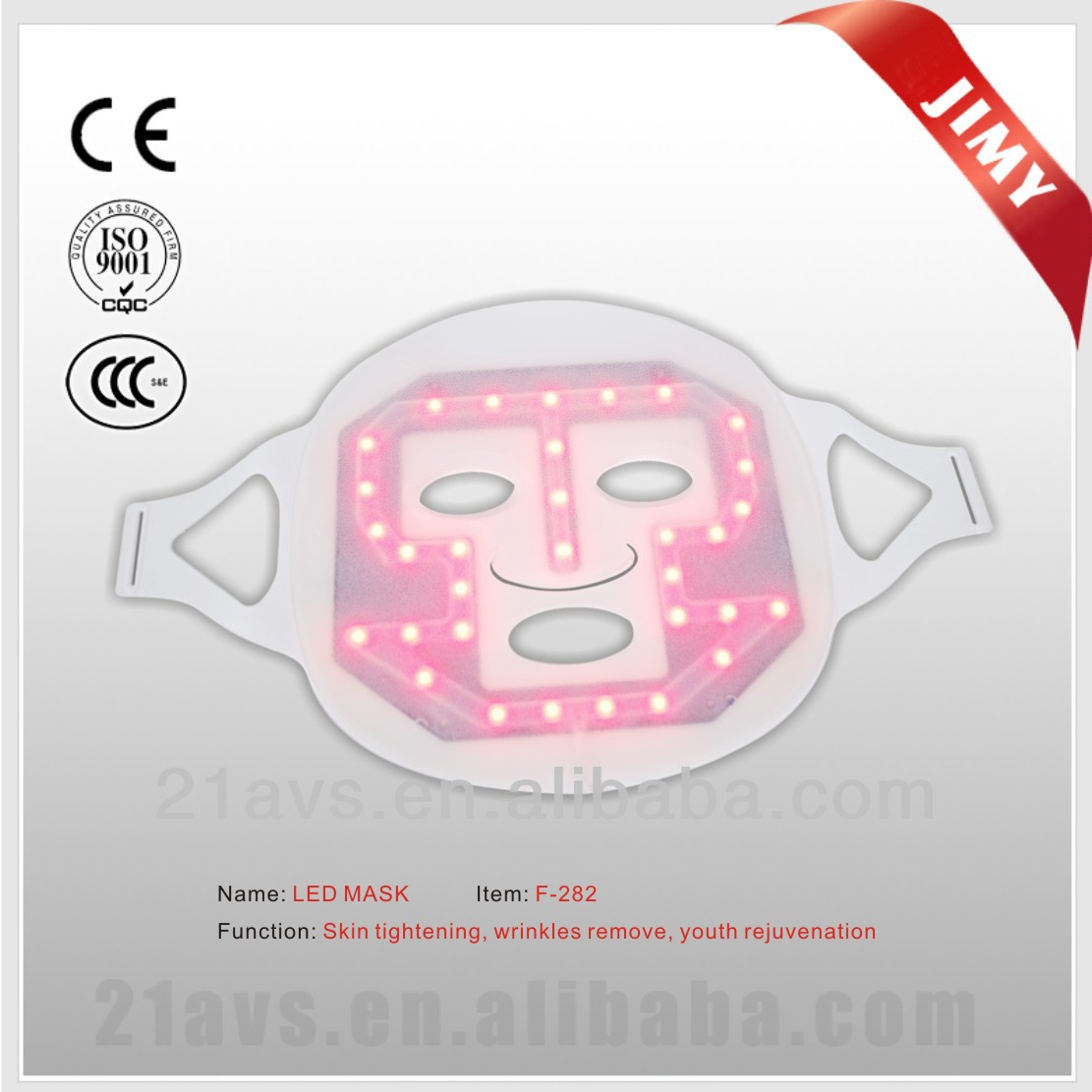 2014 Hot Sale Home Use Photon therapy IR&LED Facial Mask