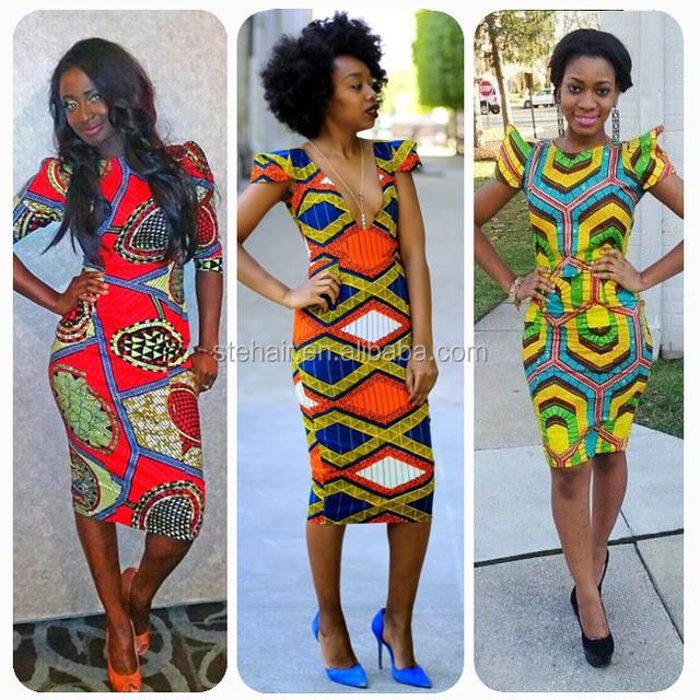 stefull wax hollandais africano vestidos de boa qualidade