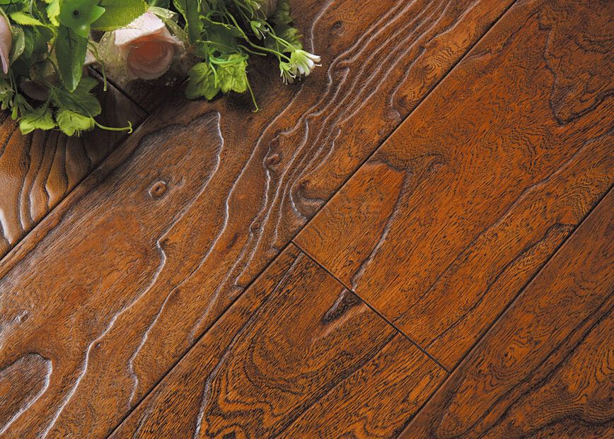 Elm multi-layer engineered wood floor 15mm hot sell manufacturer ABC grade NBY-502