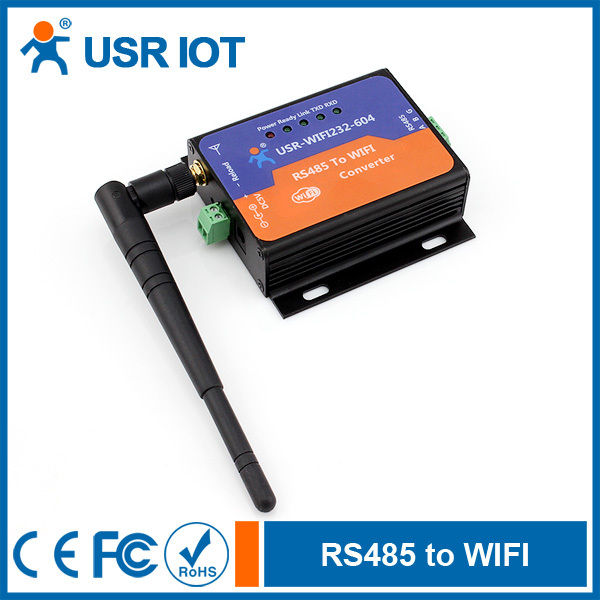USR-WIFI232-604 Embedded Wifi Module Serial RS485 to Wireless Server Support Router/Bridge Mode Networking