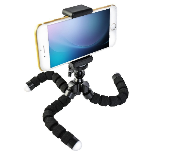 Wholesale Mini Flexible Octopus , Camera Tripod Handle Phone Holder Hot Products 2017
