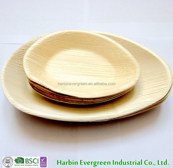 Best royal classic disposable dinnerware palm leaf plates & Best royal classic disposable dinnerware palm leaf plates View palm ...