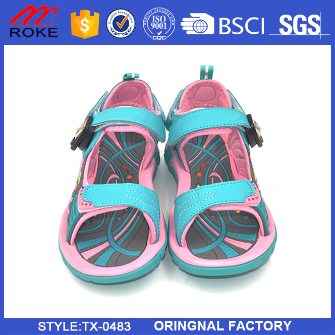 Cutomize OEM latest new 2017 sport sandal women beach sport sandals