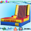 giant inflatable sticky wall games for children and adults