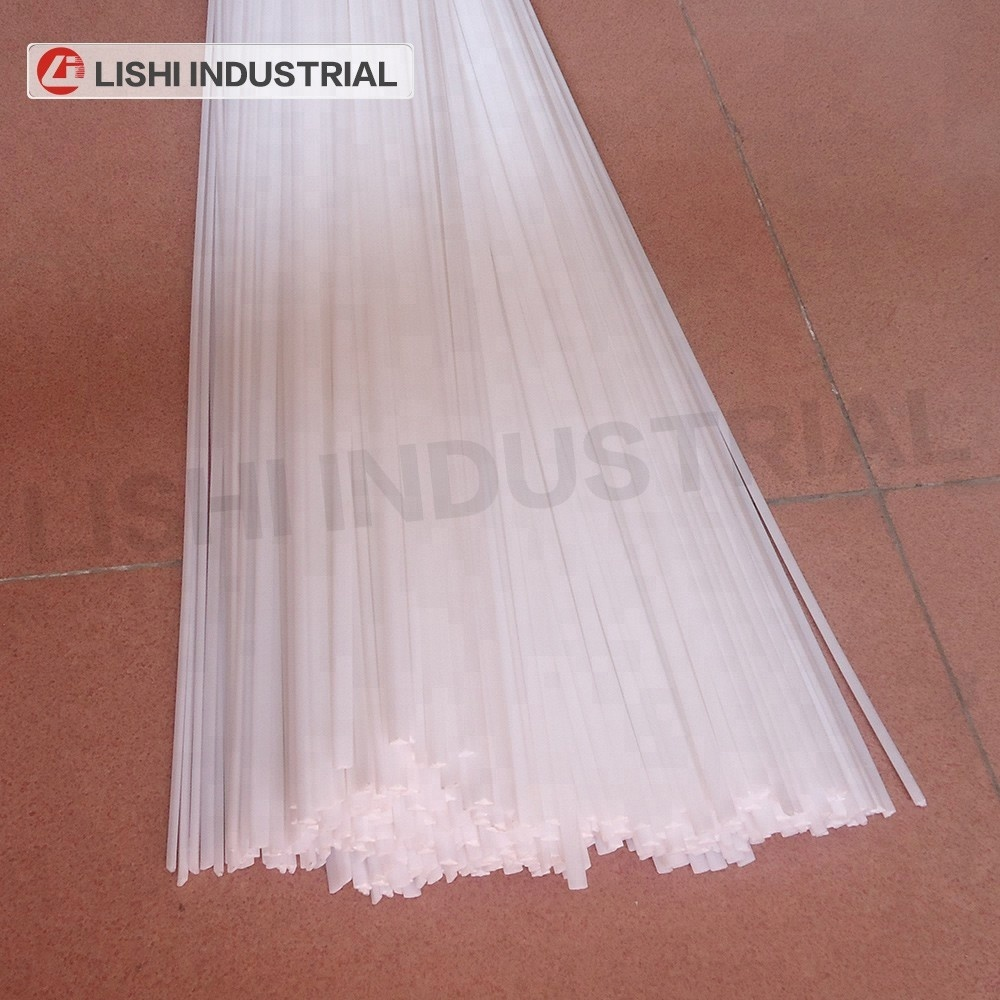 30 pcs //triangle// PEHD polyethylene grey HDPE Plastic welding rods 4mm