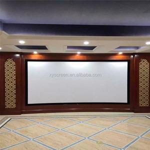 XY Screen AV System Retractable Movie Screen,fixed Frame Projector Screen