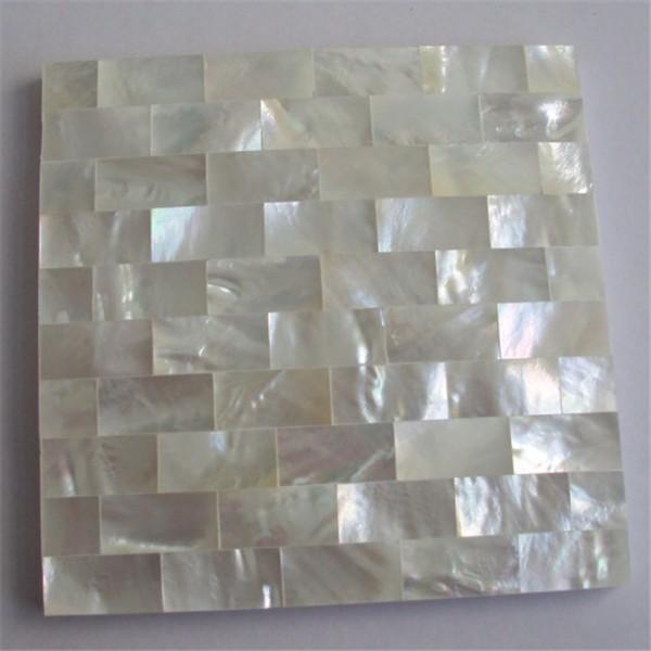 Hedendaags Natual Witte Kleur Sea Shell/baksteen Parelmoer Mozaïek Voor VK-48