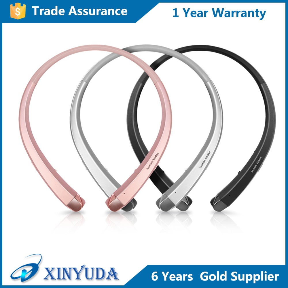High quality Bluetooth Wireless Stereo Headset HBS 910 bluetooth neckband sport headphones for LG HBS 910 bluetooth headphones