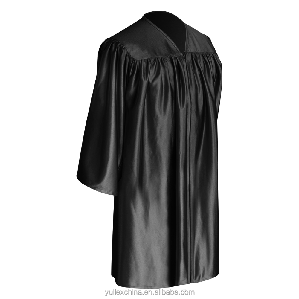 Black Child Graduation Gown - Buy Kids Gown,Preschool Gown ...